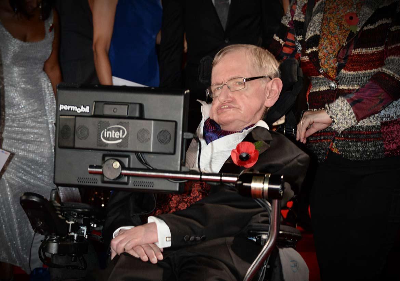 Stephen Hawking Image: Professor Stephen Hawking