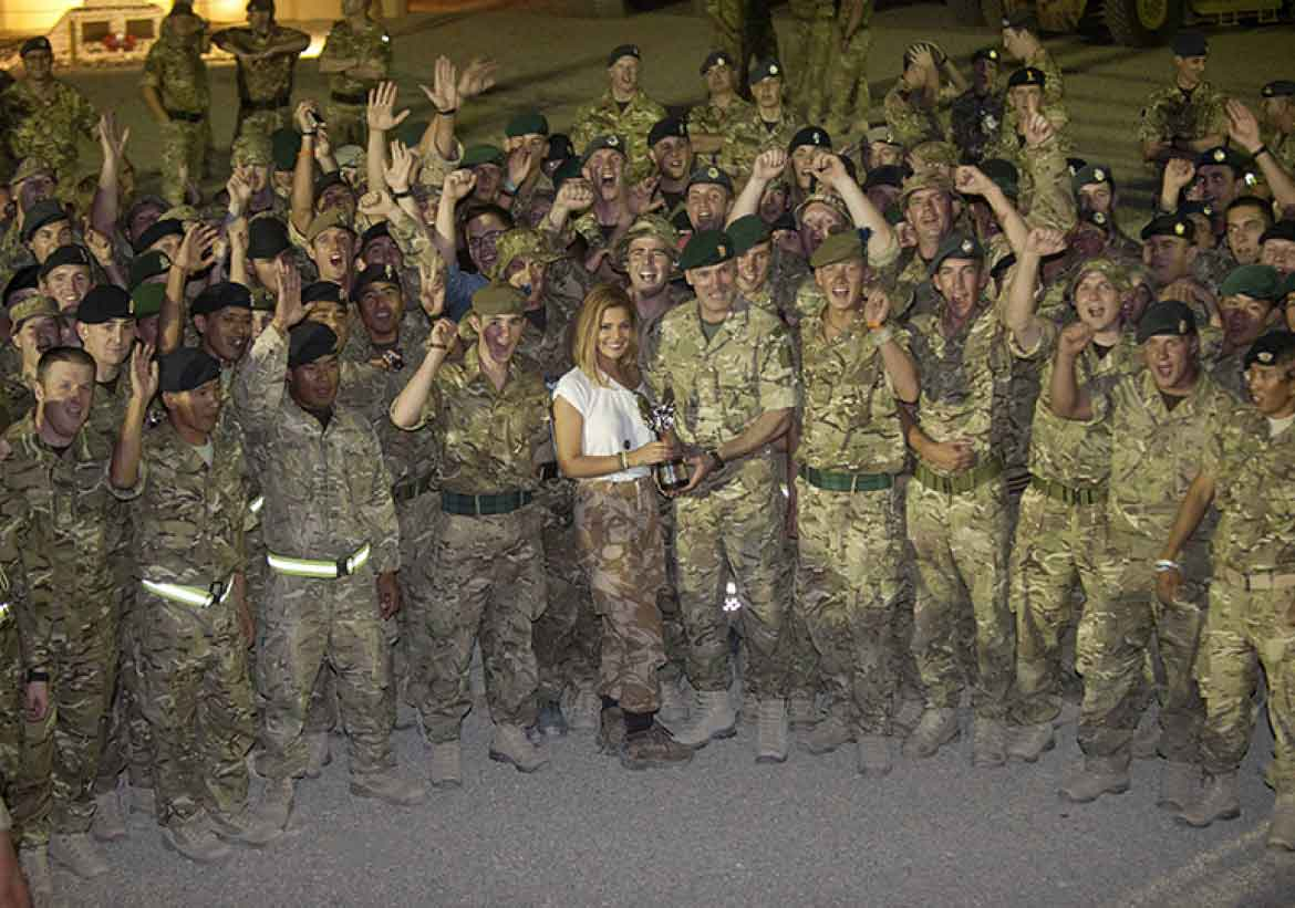British Armed Forces for 10 years in Afghanistan