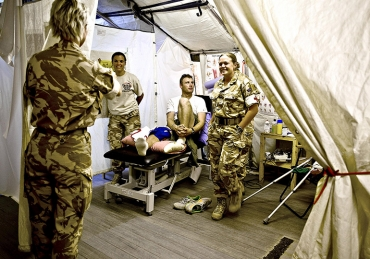 UK Field Hospital Afghanistan